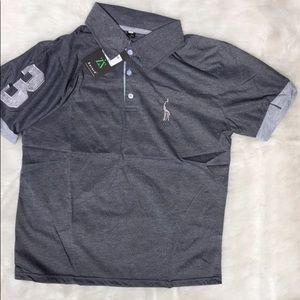 Zacard Large Gray polo NEW
